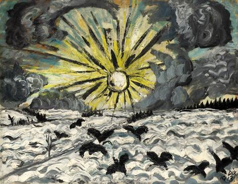 sonnenaufgang by otto dix