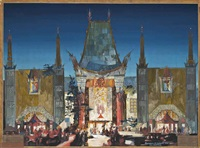 grauman's chinese theatre by raymond m. kennedy