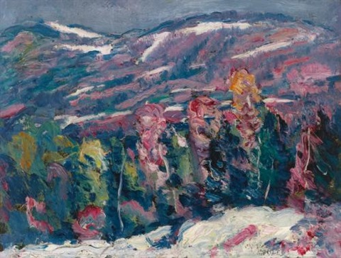 song of winter by marsden hartley