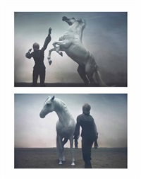 madonna ride again (2 works) by steven klein