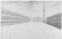 prospettiva della piazza s. marco by gaetano bentivoglio ll