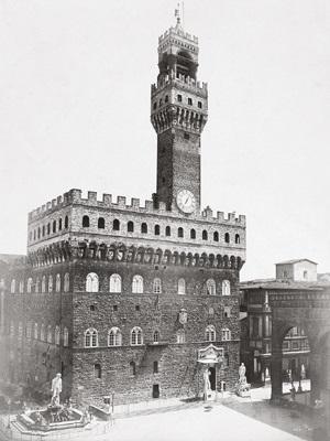 palazzo vecchio by fratelli alinari