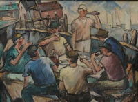 dock workers by bernard i. green