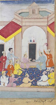 king yudhishthira interrogates his four pandava brothers by ibrahim kahar