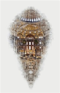 virtual places - hagia sophia by ali alisir