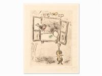 celui qui dit (...) by marc chagall