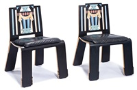sheraton chairs (2) (model 664c) by robert venturi