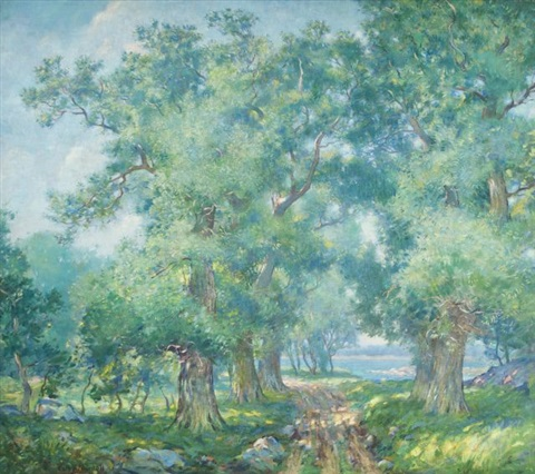 summer landscape by carl j nordell