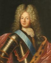 portrait louis auguste de bourbon, duc du maine by pierre mignard