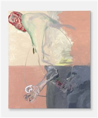 ohne titel (aus der serie hand-painted pictures) (untitled (from the series hand-painted pictures)) by martin kippenberger
