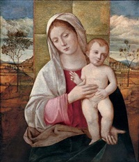 the madonna and child by giovanni bellini