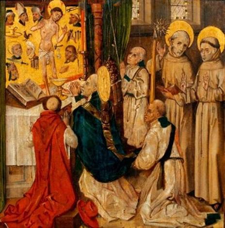la messe de saint grégoire by french school (15)