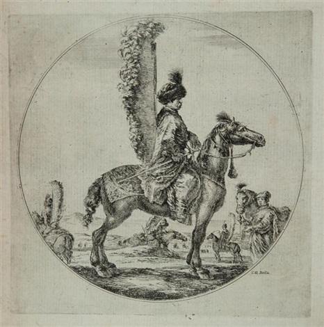 un hussard polonais by stefano della bella