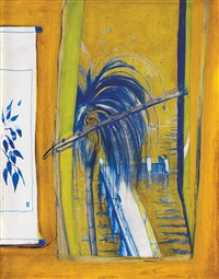 the pier at lavender bay by brett whiteley