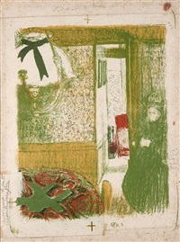 interieur a la suspension by edouard vuillard