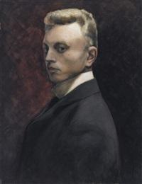 autoportrait by léon spilliaert