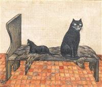 les deux chats by jellal ben abdallah