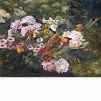 garden in bloom by henri arthur bonnefoy