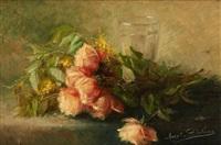 jetée de roses by marguerite dielman