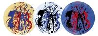 violons sur le plat (set of 3) by arman
