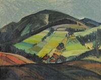 landscape from pcim (poland) by janusz maria brzeski