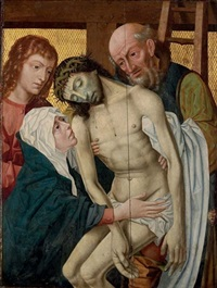 the descent from the cross by colijn de coter