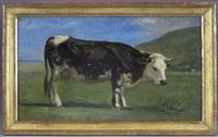 vache normande by paul huet