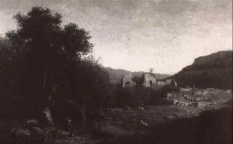 Paysage italien anime La Vallee du Timbre by Pierre Thuillier on ...