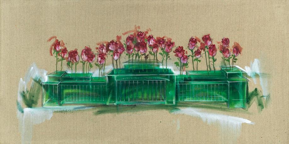 flowerpot by lu hao