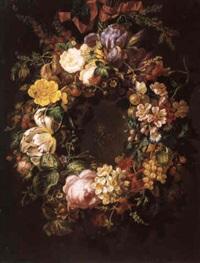 guirlande de fleurs et de fruits by moise jacobber