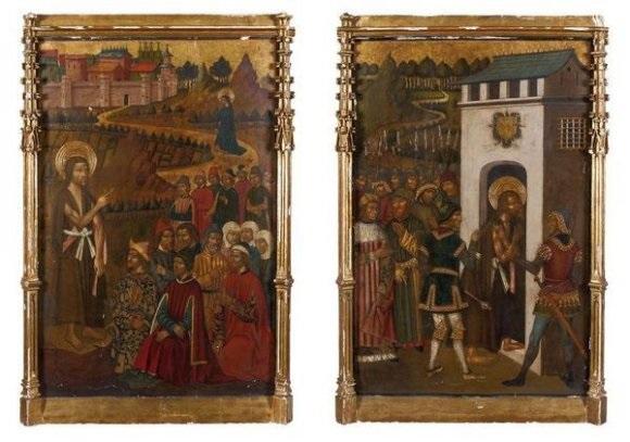 saint jean baptiste prêchant by juan de la abadia