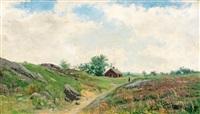 sommar (triptych) by konrad simonsson