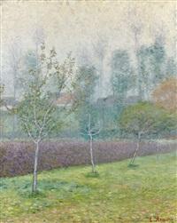 paysage aux trois arbres by louis anquetin