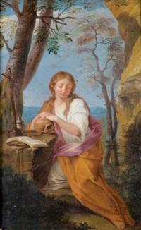 marie madeleine au désert by françois lemoyne
