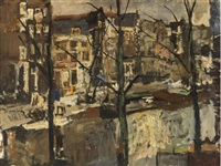 the singel, amsterdam by george hendrik breitner