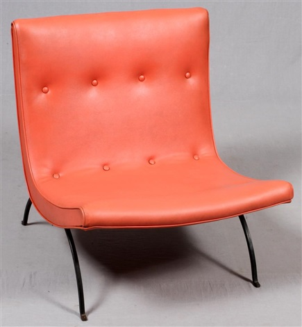 Milo Baughman 1923 2003 For Thayer Coggin Scoop Lounge Chair C. 1960