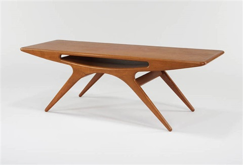 coffee table model 206 by johannes andersen