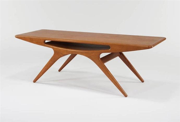 coffee table model 206 by johannes andersen