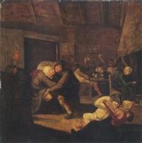 l'intérieur d'une taverne by harmen hals
