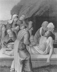 la mise au tombeau by francesco da milano
