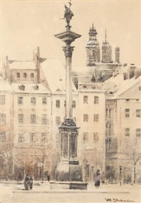 kolumna zygmunta by wladyslaw stachowicz