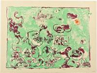 un vent de folie by pierre alechinsky