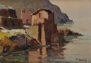 corse, maisons en bord de mer by pierre bach