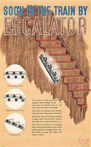 escalator by lászló moholy nagy