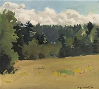 south meadow by fairfield porter