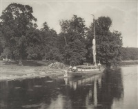 river bure at coltishall (from life and landscape on the norfolk broads) by peter henry emerson