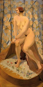 une femme nue assise by anonymous (20)