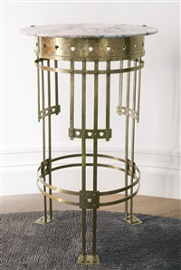 side table by gustave serrurier-bovy