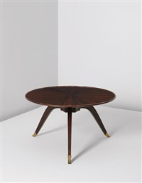 bas-ducharne' table, model no. 1044ar/1164nr by émile jacques ruhlmann