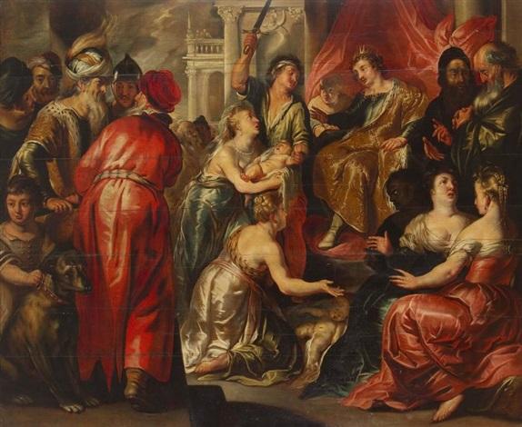 Jugement de Salomon | inconnu; Rubens, Peter Paul